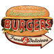 DekoDepot - Geprägtes Blechschild - Burgers