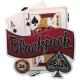 DekoDepot - Geprägtes Blechschild - Blackjack