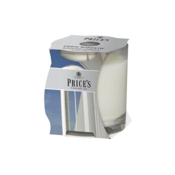 Prices Candles - Duftkerze Open Window - Lilie, Veilchen