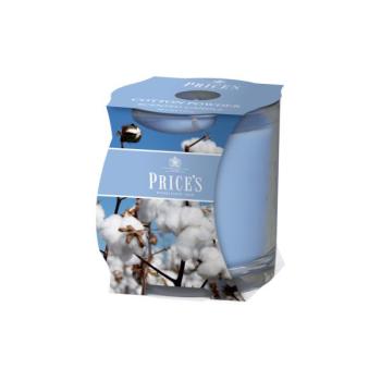 Prices Candles - Duftkerze Cotton Powder - Wacholder