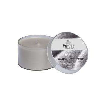 Prices Candles - Duftkerze Warm Cashmere - Kaschmirholz,...