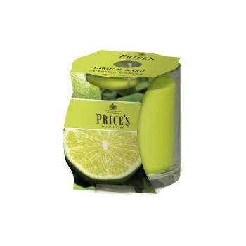 Prices Candles - Duftkerze Lime & Basil - Limette,...