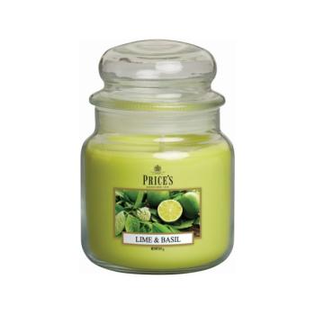 Prices Candles - Duftkerze Lime & Basil - Limette, Basilikum