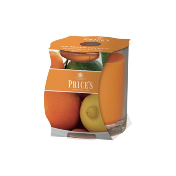 Prices Candles - Duftkerze Sicilian Citrus - Orange, Zitrone