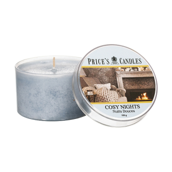 Prices Candles - Duftkerze Cosy Nights - 100g Dose