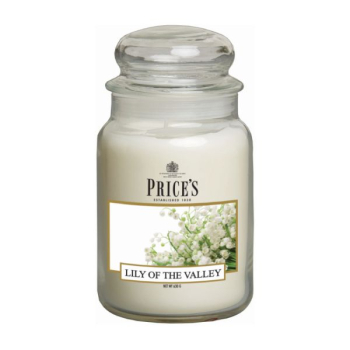 Prices Candles - Duftkerze Lily of the Valley - Duftend, blumig
