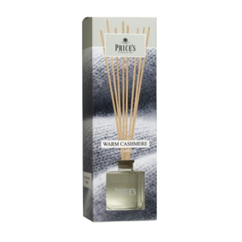 Prices Candles - Reed Diffuser Warm Cashmere - 100ml -...