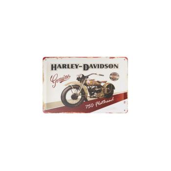 Davartis - Blechschild - Harley Davidson Genuine 750...