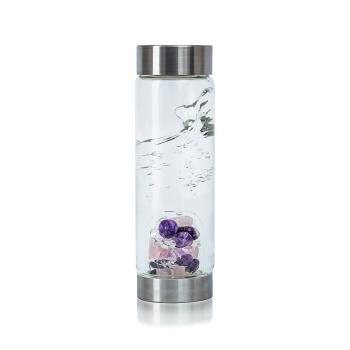 VitaJuwel - ViA Wellness 500ml - Bergkristall, Amethyst,...
