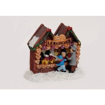 Davartis - Miniatur Modellbau Lebkuchen Stand - Handbemalt