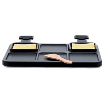 Kisag - Raclette Platte - Teflon beschichtet, Aluminum...